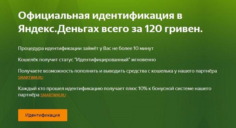 Как пройти идентификацию Яндекс.Денег в Украине в 2020 году: стоимость 120 грн