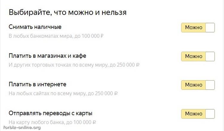 Виртуальная карта Яндекс.Деньги: можно, нельзя