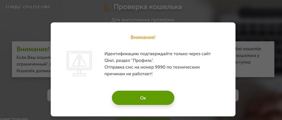 Идентификация Киви 2021: не работает подтверждение в мобильном приложении
